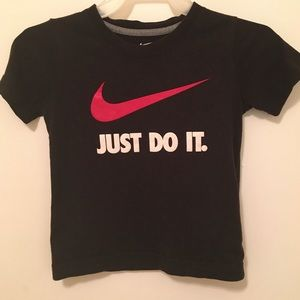 Nike Black T-shirt Size 3T